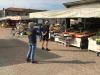 Castano - Il mercato durante il Coronavirus (Foto d'archivio)
