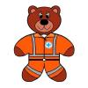 Salute - L'orso Teo: soccorritore della Croce Azzurra di Buscate