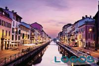 Milano - Navigli al tramonto (foto internet)