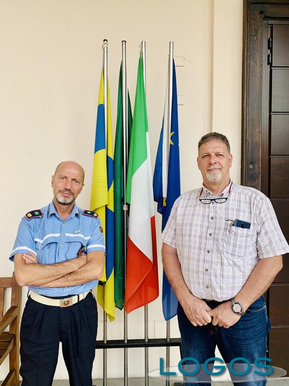 Arconate - Il nuovo comandante della Polizia locale.