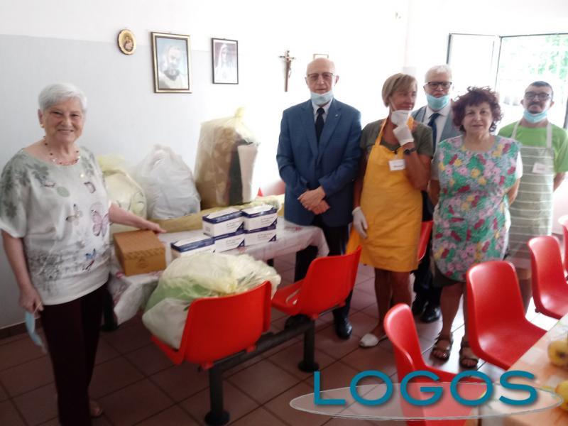 Legnano - La donazione di service dal Lions Club Rescaldina