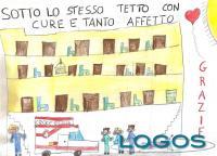 Magenta - Grazie agli operatori ospedalieri dagli studenti