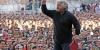 Politica - Beppe Grillo a un comizio (foto internet)