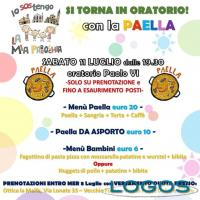 Castano / Eventi - 'Si torna in oratorio! Con la paella'