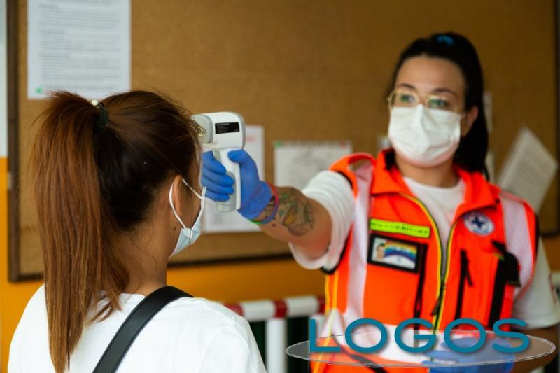 Salute - La Croce Azzurra di Buscate ai test Covid (Foto Eliuz Photography)