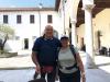 Castelletto - Due 'pellegrini' sulla via Francisca del Lucomagno