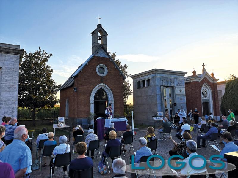 Inveruno - Messe di suffragio al cimitero
