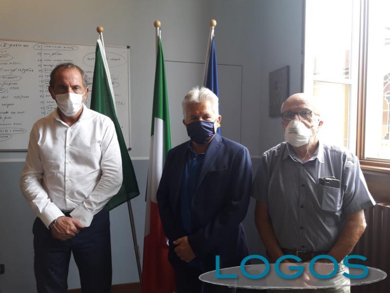 Castano - FdI e FI incontrano il sindaco di Busto Arsizio