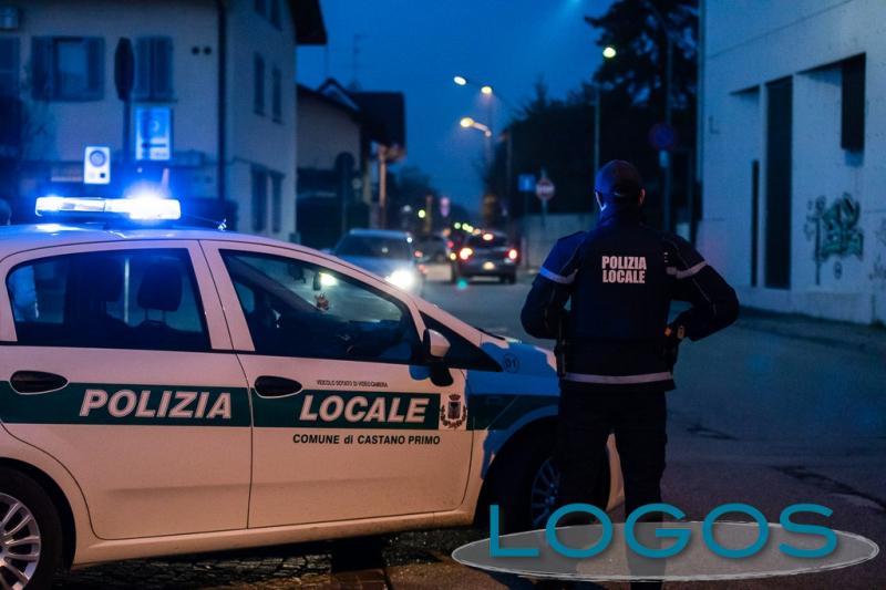 Castano - Controlli della Polizia locale