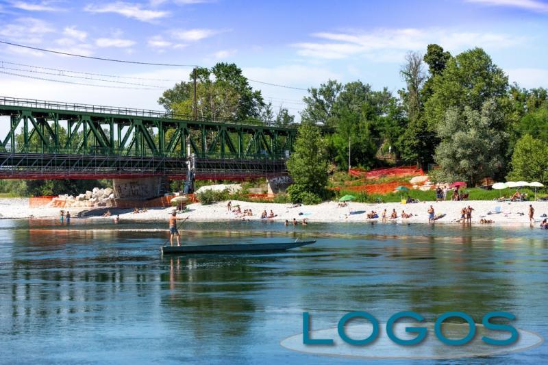 Turbigo - Il fiume Ticino (Foto d'archivio)