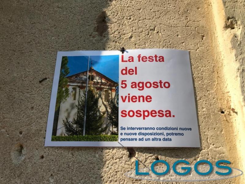 Territorio - Madonna di Grée: festa sospesa