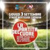 Sport - 'La Partita del Cuore' (Foto internet)