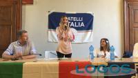 Magenta - Stefania Bonfiglio con Fratelli d'Italia
