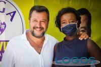 Buscate / Politica - Cristine Mariam Scandroglio con Matteo Salvini (Foto internet)