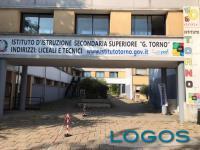 Castano - L'istituto superiore 'Torno' (Foto d'archivio)