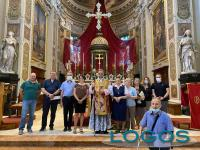 Cuggiono - Don Angelo Sgobbi con il Consiglio pastorale