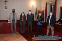 Cuggiono - La giunta di Giovanni Cucchetti (foto Francesco Maria Bienati)