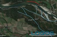 Territorio - Mappa erosione del Ticino