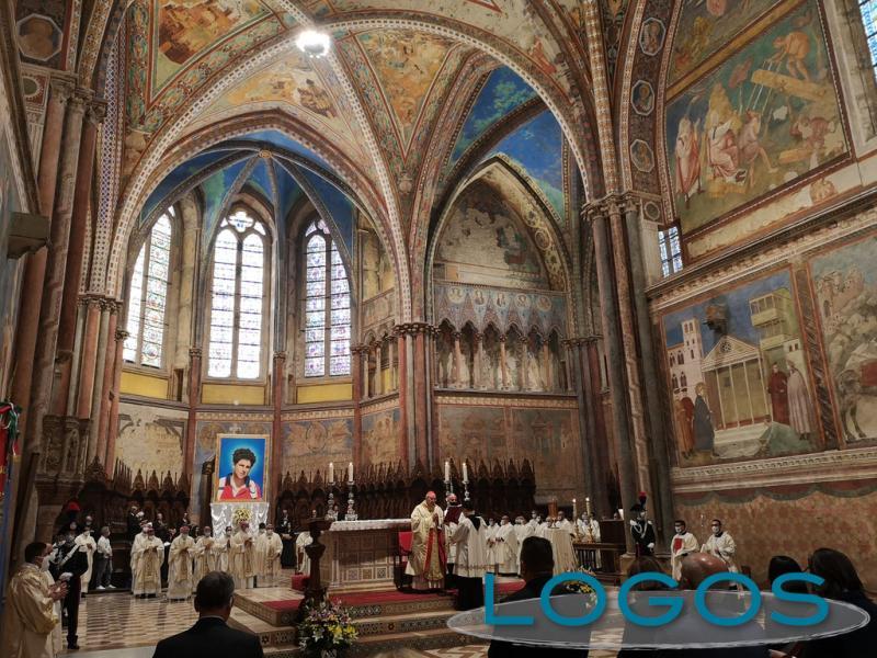 Assisi - Celebrazione per la beatificazione di Carlo Acutis