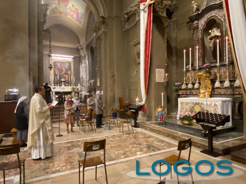 Inveruno - Santa Teresa 2020, la Messa in chiesa