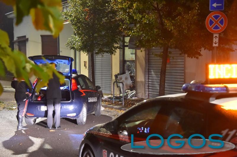 Cronaca - Fanno saltare il bancomat a Vanzaghello (Foto Pubblifoto)