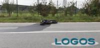 Cronaca - La moto dopo l'incidente
