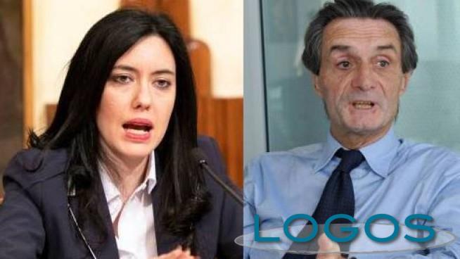 Attualità - Azzolina e Fontana (Foto internet)