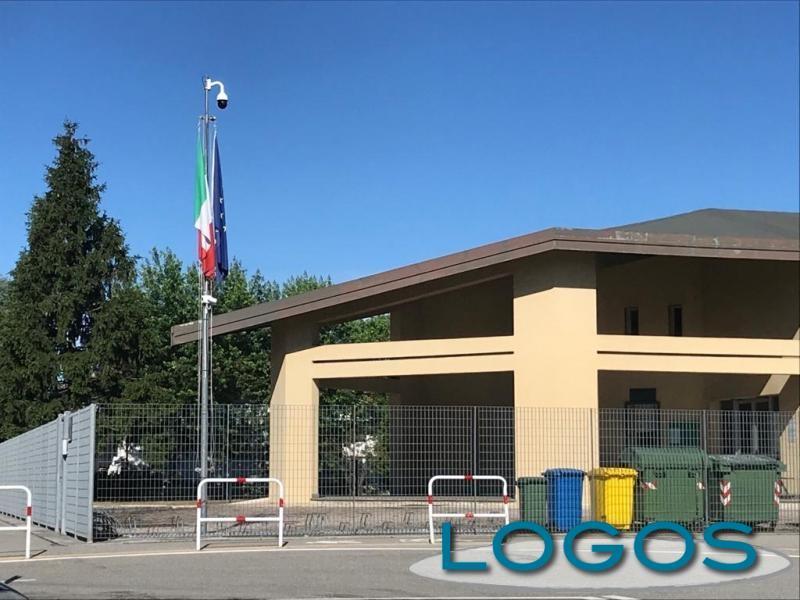 Castano - La scuola di via Giolitti (Foto d'archivio)
