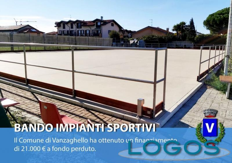Vanzaghello - La pista esterna di pattinaggio