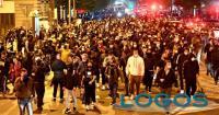 Napoli - Proteste contro il coprifuoco (Foto internet)