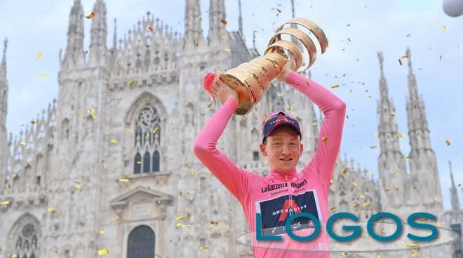 Sport - Il vincitore del Giro d'Italia, Tao Geoghegan Hart (Foto internet)