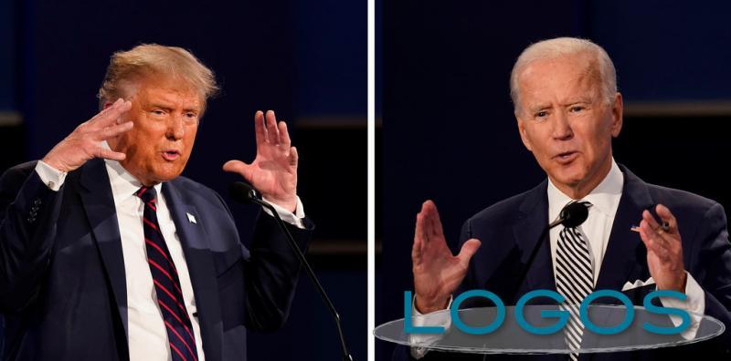 Attualità - La sfida tra Trump e Biden (foto internet)