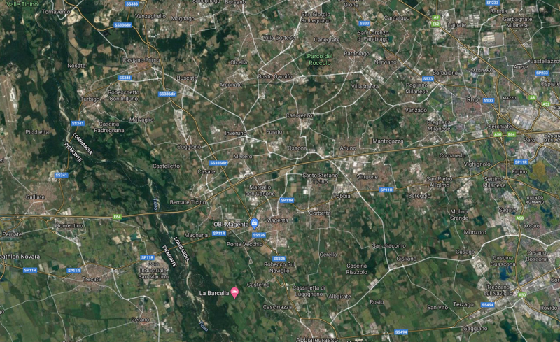 Territorio - I nostri paesi visti dal satellite.