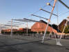 Expo - Coperture davanti al Padiglione Zero