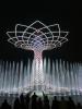 Expo - L'Albero della Vita illuminato di bianco