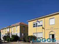 Arconate - Il Liceo d'Arconate e d'Europa, l'ingresso