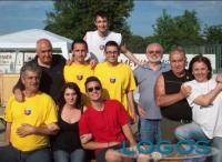 Turbigo - Carlo Rava con alcuni amici della Turbighese