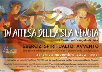 Sociale - Esercizi Spirituali d'Avvento 2020, locandina