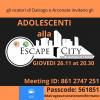Eventi - 'Escape City'