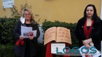 Magenta - Il sindaco Chiara Calati e le poesie di Alda Merini.