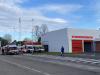 Magenta - Ambulanze fuori dal Fornaroli