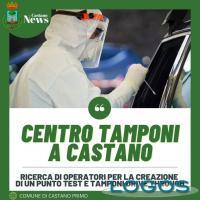 Castano - Cercasi operatori per tamponi in auto
