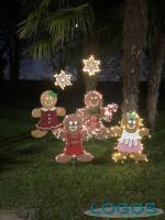 Cuggiono - Decorazioni natalizie in paese
