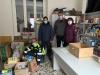 Castano - Alcuni volontari della Caritas (Foto Franco Gualdoni)