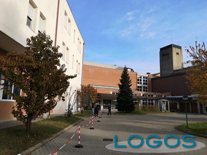 Cuggiono - L'ingresso dell'Ospedale verso il PS