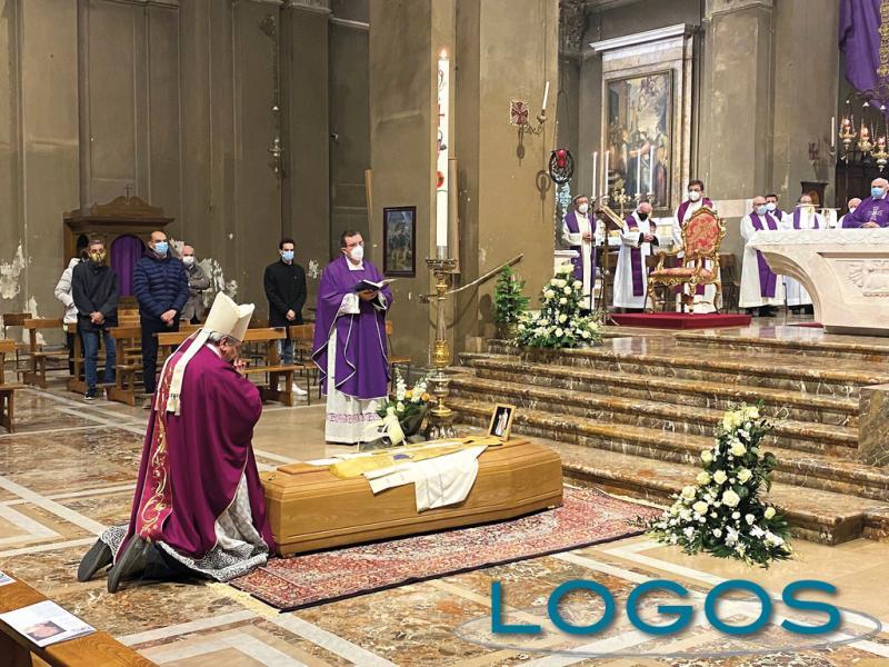 Inveruno - Funerale di don Francesco Rocchi