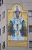 Milano - Il murales per Sant'Ambrogio, foto di Andrea Cherchi