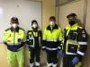 Magnago - Alcuni volontari della Protezione Civile
