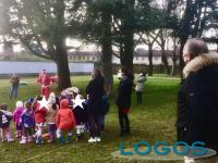 Cuggiono - Babbo Natale in visita alla Scuola dell'Infanzia 2020