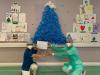 Legnano - Decorazioni natalizie in reparto 2020
